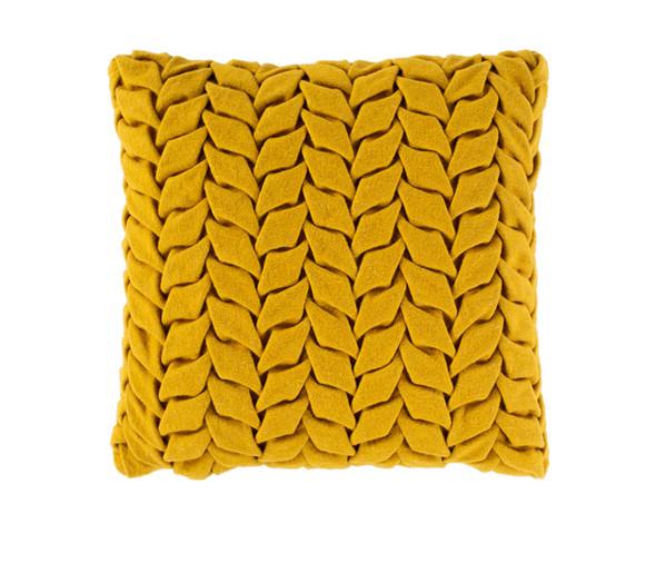 Fold Pillow- Mustard