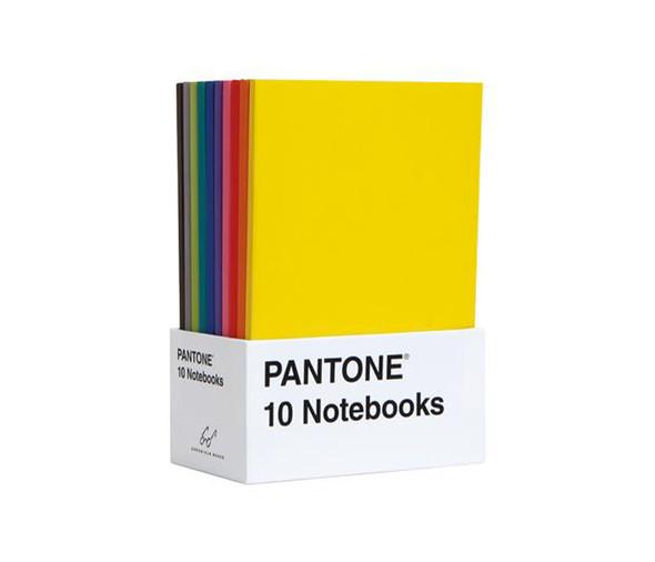 Pantone Ten Notebooks