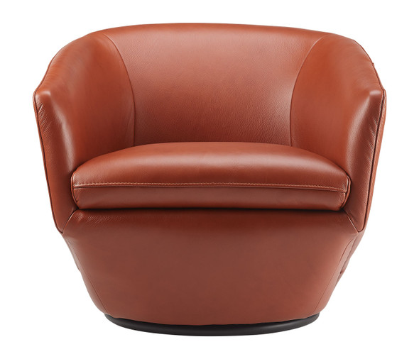 Gatano Swivel Leather Chair