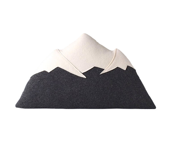 Mt Rainier Shaped Pillow