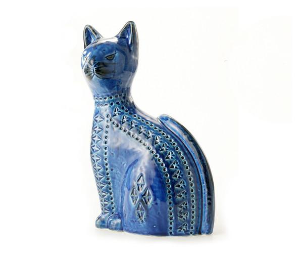 """Bitossi 10.5"""" Cat-Rimini Blu"""
