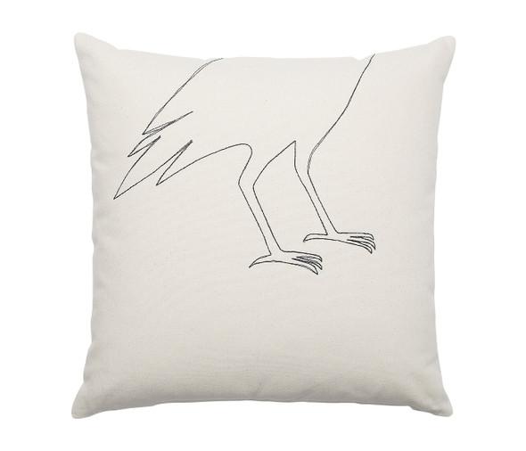 Bird Feet Pillow