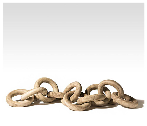 Wood Chain Link