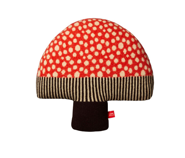 Mushroom Pillow-Red