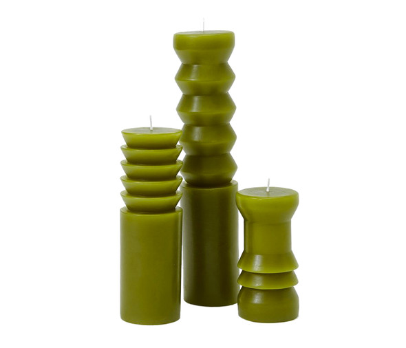 Totem Candles-Moss
