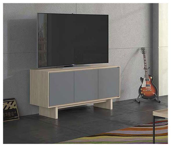 BDI Octave 3-Door Media Cabinet 8377