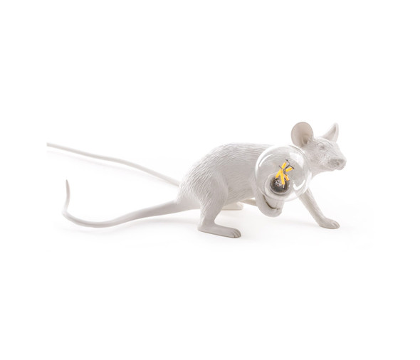 Lying Down Mouse Lamp
