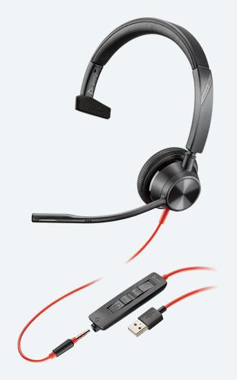 Poly Blackwire 3315, Microsoft Teams Edition