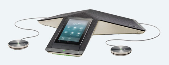 Poly Trio C60 IP Conference Phone with Expansion Microphones