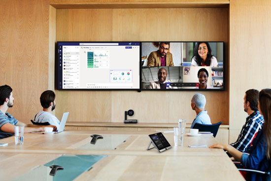 Yealink Microsoft Teams Video Conferencing in the Office