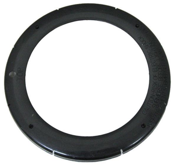 PENTAIR   FACE RING, LARGE PLASTIC, SNAP-ON, BLACK   79212111
