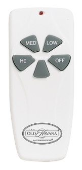 OLD HAVANA REMOTE CONTROL FAN ONLY (3-SPEED): WHITE (90 CH4)