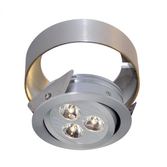 Tiro Collar 3 Light Tiro Conversion ring for Under Cabinet in Brushed Aluminum (91|WLC144-N-98)