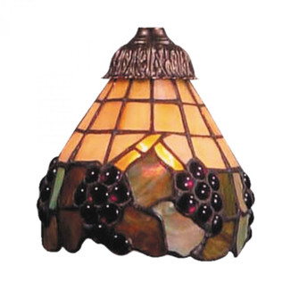 Mix-N-Match Stained Honey Dune Glass Shade With (91|999-7)