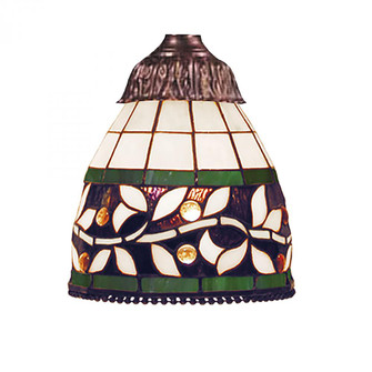 English Ivy 1-Light 97716M Glass Only (91 999-13)