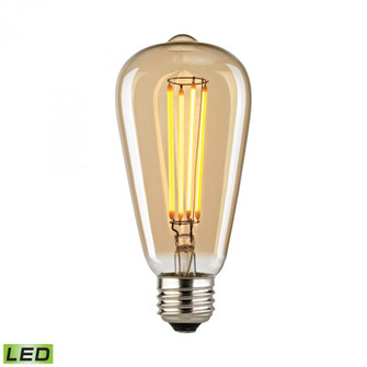 LED Bulb - Light Gold Tint, 4 Watts, E26 Medium Base, 2700K (91|1110)