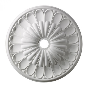 Melon Reed Medallion 32 Inch in White Finish (91 M1009WH)