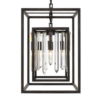 Hollis 4 Light Bronze Chandelier (205|8404-FB)