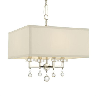 Paxton 4 Light Nickel Mini Chandelier (8105-PN)