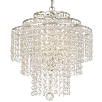 Arielle Crystal 18'' wide Silver Chandelier (205|ARI-304-SA-CL-MWP)