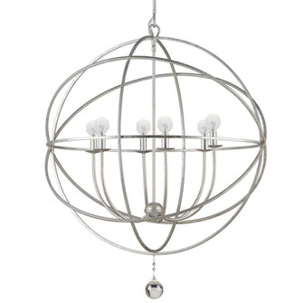 Solaris Olde Silver Up Chandelier (205 9228-OS)