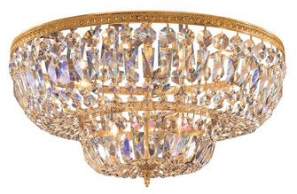 Crystorama 6 Light Clear Spectra Brass Ceiling Mount (205 724-OB-CL-SAQ)