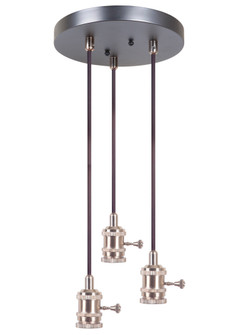 3 Light Mini Pendant (20|CPMKB-3SB)