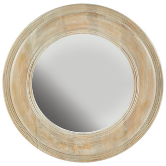 White Washed Wooden Mirror (42 730205MM)