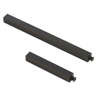 Square Bronze Ext Pipe (1) 6'' and (1) 12'' (4774|PIPE-120)