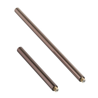 Brown Nickel Ext Pipe (1) 6'' and (1) 12'' (4774|PIPE-103)