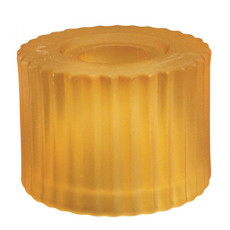 G100 SERIES-AMBER CYLINDER GLASS SHADE (16|G112-AM)