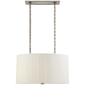Perfect Pleat Oval Hanging Shade (279 BBL 5031PWT-S)