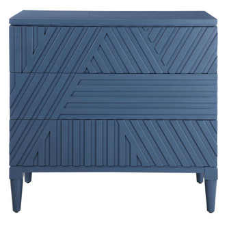 Uttermost Colby Blue Drawer Chest (85|25383)