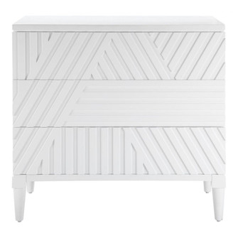 Uttermost Colby White Drawer Chest (85|25382)