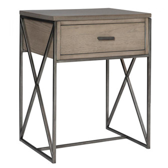 Uttermost Cartwright Gray Side Table (85|25367)