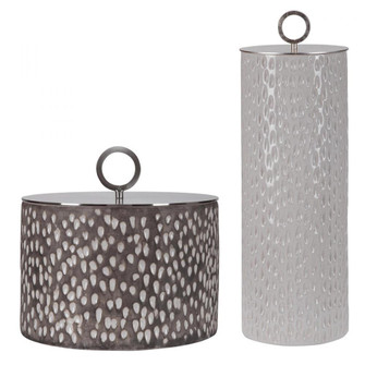 Uttermost Cyprien Ceramic Containers, S/2 (85|17766)