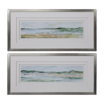 Uttermost Panoramic Seascape Framed Prints Set/2 (85|41594)