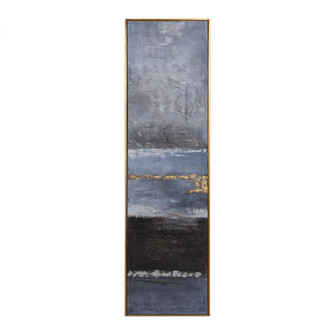 Uttermost Winter Sea Scape Abstract Art (85|36051)