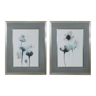 Uttermost Midnight Blossoms Framed Prints Set/2 (85|33688)