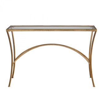 Uttermost Alayna Gold Console Table (85|24640)