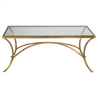 Uttermost Alayna Gold Coffee Table (85|24639)