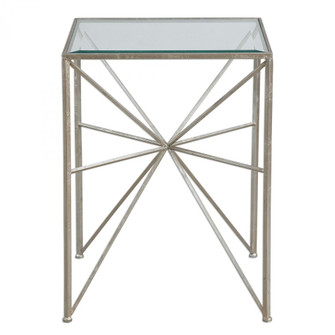 Uttermost Silvana Silver Side Table (85|24631)