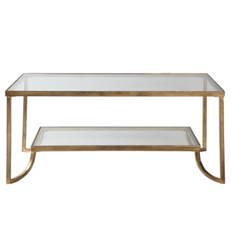 Uttermost Katina Gold Leaf Coffee Table (85|24540)