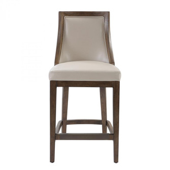 Uttermost Purcell Leather Counter Stool (85|23501)