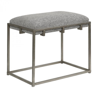Uttermost Edie Silver Small Bench (85|23471)