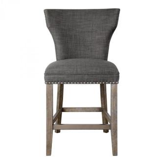 Uttermost Arnaud Charcoal Counter Stool (85 23433)