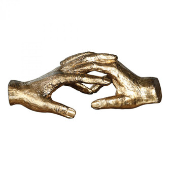 Uttermost Hold My Hand Gold Sculpture (85|20121)