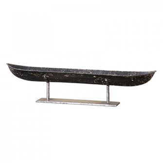 Uttermost River Boat Sculpture (85|19972)