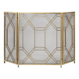 Uttermost Rosen Gold Fireplace Screen (85|18707)