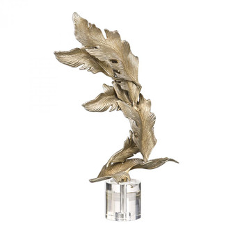 Uttermost Fall Leaves Champagne Sculpture (85 17513)